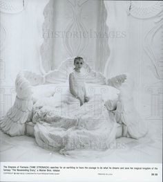 """1984 Press Photo Tami Stronach Stars as Empress in """"The Neverending Story"""""""