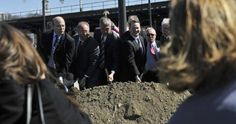 Photos of this morning's WRTA groundbreaking ceremony at Union Station.
