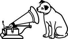 dog listen music logo clip art in black and white Music Tattoos, Tatoos, Musik Clipart, His Masters Voice, Electro Swing, Dog Icon, Entertainment Logo, Music Logo, Animales