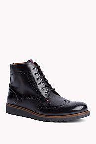 24e6e87d98b8 Part of our Tommy Hilfiger men s footwear collection lt br  gt Upper   Leather lt