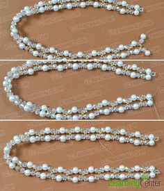 Do you want glass beads necklaces? If yes, you could not miss today's Pandahall tutorial on how to make cheap 4-strand glass beads pendant necklaces for women!