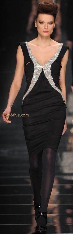 3dbd8b6194 John Richmond Fall Winter 2009 Mid Length Dresses