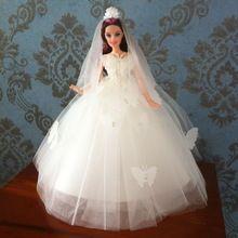 Vêtements robe de mariage robe main Party Doll pour Barbie main pour momoko / MMK / Barbie / Silkstone vêtements A2(China (Mainland))