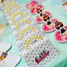Festa Lol - Inspirações - Maternizando Lol Doll Cake, 6th Birthday Parties, Surprise Birthday, 7th Birthday, Doll Party, Bday Girl, Lol Dolls, Party Favors, Party Bags