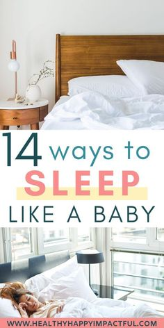 14 easy ways to sleep like a baby tonight. Simple tips for astonishingly better sleep. Advice for falling asleep faster and staying asleep longer. Beneficial habits include stretches, tea, exercise, and other natural remedies. Can Not Sleep, Sleep Help, Trying To Sleep, Good Night Sleep, Ways To Sleep, How To Sleep Faster, How To Get Sleep, Sleep Better, Ways To Fall Asleep