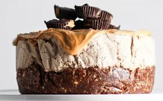 <p>This decadent cake is 100 percent raw, gluten-free, and dairy-free!</p>
