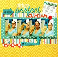 A Project by tinaev from our Scrapbooking Gallery originally submitted 01/11/13 at 11:25 PM  Colour combo greatness!