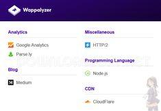 Wappalyzer a vu le jour en 2008 en tant qu'extension de Mozilla Firefox. Depuis lors / Télécharger Wappalyzer pour Google Chrome, Firefox et Edge Linux, Massachusetts Institute Of Technology, Windows 10, Microsoft, Melbourne, Navigateur Internet, Document Management System, Conception Web, Navigateur Web