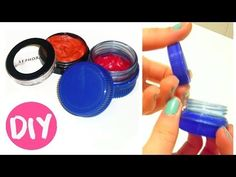 Beauty n makeup DIY Cream Blush in two ways + Makeup Container Tutorial When tryin Homemade Blush, Homemade Skin Care, Diy Skin Care, Blusher Makeup, Blusher Tips, Makeup Containers, Cosmetic Containers, How To Apply Blusher, Diy Beauty Secrets