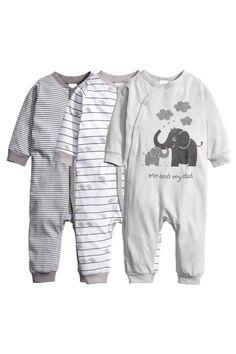 Piżama 3-pak   H&M