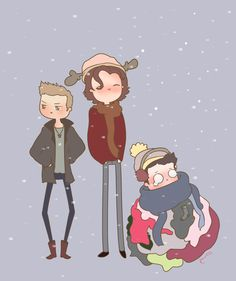 Cas is not used to snow, or cold weather. (via Tumblr). You guys, I'm crying from laughing but I have to do it quietly because my parents are here and they already think I'm weird.