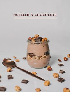Nutella   Chocolate Yulu yogurt parfait #AussieStyle