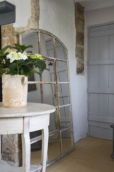 rustic chic entry