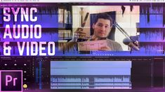 How to Record and Sync Audio & Video in Premiere Pro - http://tutorials411.com/2017/01/01/record-sync-audio-video-premiere-pro/