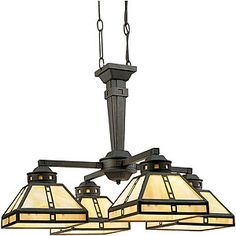 Craftsman Chandelier | Arts and Crafts Chandelier | House of ...