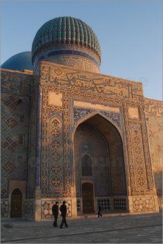Kozha Mausoleo Yasaui Ahmed. Kazajstán