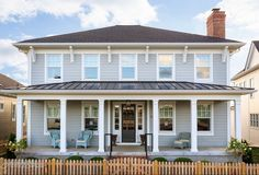Home Paint Color Ideas with Pictures Benjamin Moore Coventry Gray. Artisan Signature Homes. Exterior Gray Paint, Exterior Paint Colors For House, Exterior Siding, Paint Colors For Home, Exterior Colors, Exterior Design, Building Exterior, House Building, Gray Siding