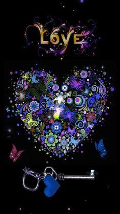 Love Key to My Heart love colorful heart animated gif key valentine's day I Love Heart, Key To My Heart, Heart Art, Heart Pics, Love Is All, Peace And Love, Coeur Gif, Corazones Gif, Animated Heart