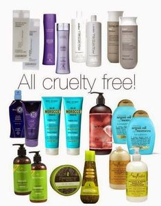 CRUELTY FREE Shampoo- click for the best cruelty free Brands LIST (MAKE UP AND COSMETIC 2014)   Beauty4Free2U (Attention: Organix is no longer cruelty-free!!!)