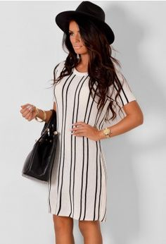 Jaelyn Cream and Black Jumper Dress Black Jumper Dress, Shirt Dress, Pink Boutique Uk, Online Dress Shopping, Sweater Weather, Pink Dress, Dresses Online, Party Dress, Fashion Dresses