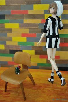まぐ :モモグラ展にて撫子さん♡