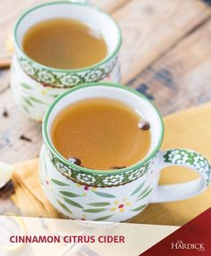 Maximize a favourite fall comfort beverage with the tangy, citrus twist in this Cinnamon Citrus Cider recipe. It's just perfect for holiday gatherings!