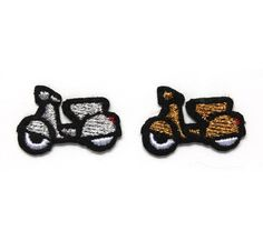 """Macon & Lesquoy """"scooters"""" repair patches"""