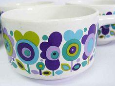 1970s soup bowls