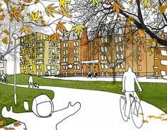 > architectural illustrations | www.heinewelt.dewww.heinewelt.de