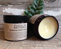 Headache Relief Salve with Organic Cayenne by findyourwaynaturals