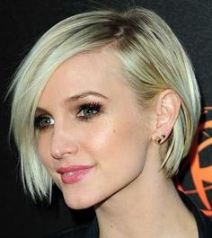 Short Straight Hair | low maintenance short hairstyles for straight hair