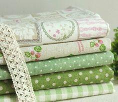 Cotton Linen Fabric Cloth DIY Cloth Art Manual Cloth by JolinTsai, $19.50