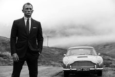 Daniel Craig as James Bond. I love this picture so much.