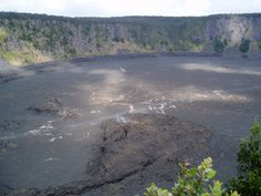 Kilauea Iki Crater...I never thought I'd be able to say I hiked into a volcanic crater!