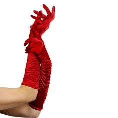 Fever Women's Long Gloves, Red, One Size, Temptress Gloves, 26345 #Sexy Devil Halloween Costumes
