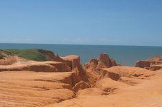 Falésias do Morro Branco, Ceará