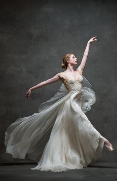 Meaghan Grace, soloist with The Royal Ballet in Leanne Marshall