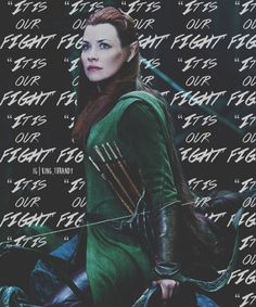 """ It is our fight """