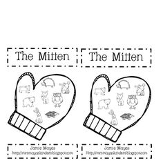 The Mitten Emergent Reader TPT Free