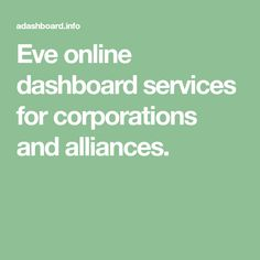 Eve online dashboard services for corporations and alliances. Online Dashboard, Eve Online, Wedding Ring