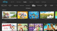 Sling TV goes after parents with launch of new on-demand Kids channel  |  TechCrunch