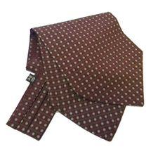 ASCOT SETA Bordeaux class Grigio grigi SILK MAN FOULARD   Clothing, Shoes & Accessories, Men's Accessories, Ties   eBay!