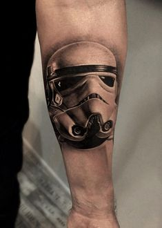 Stormtrooper Helmet http://tattooideas247.com/stormtrooper-helmet/