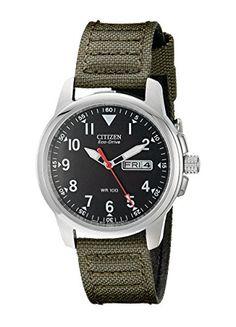 Great gift idea Citizen Men's BM8180-03E Eco-Drive Analog Japanese Quartz Green Watch