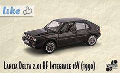 Lancia Delta 2.0i HF Integrale 16V (1990) #edicola #collezione