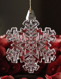 Marquis by Waterford 2012 Annual Snowflake Ornament