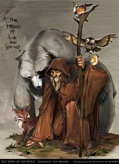 Radagast the Brown from The Hobbit
