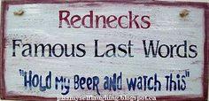 #rednecks