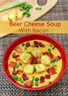 Beer Cheese Soup With Bacon Recipe Being A Midwest Gal I know My Beer Cheese Soup This Recipe With Added Bacon Was Delicious And Ready In Under 30 Minutes