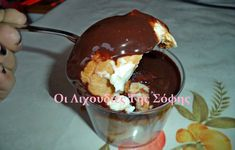 Greek Pastries, Party Desserts, Sweet Life, Chocolate Fondue, Food Videos, Pudding, Cooking Recipes, Sweets, Kitchen